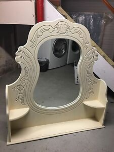 Large Solid Wood Mirror for Sale