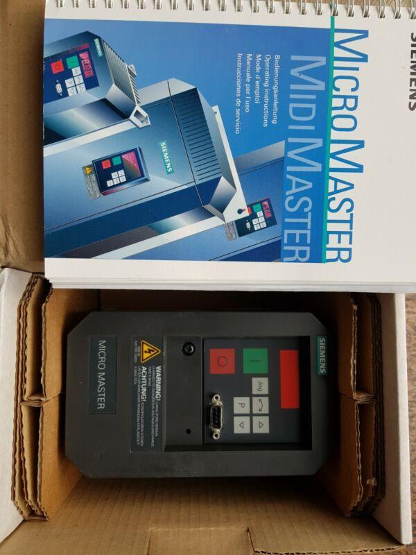 SIEMENS Micro Master 6SE3111-5CA40 Neu OVP