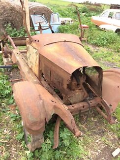 Vintage 1927/28 Willy's Whippet project - chassis etc
