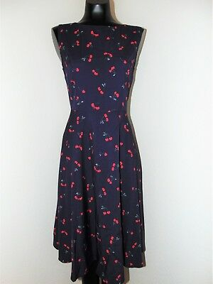Looking Up Girls Dresses (Vintage Look Cherry Print Pin Up Girl Dress in sz)