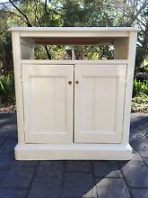 White wooden shabby chick cabinet Frenchs Forest Warringah Area Preview
