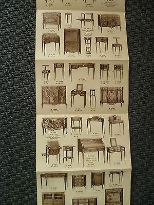 catálogo dibujada mobiliario ancien muebles estilo fabricante B.PEYRAT segunda mano  Embacar hacia Argentina