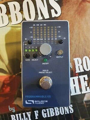 Source Audio Programmable Midi EQ Equalizer guitar pedal SA170-EQ