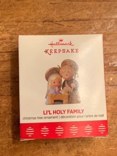 2017 Hallmark MINIATURE Ornament - Nativity - Li