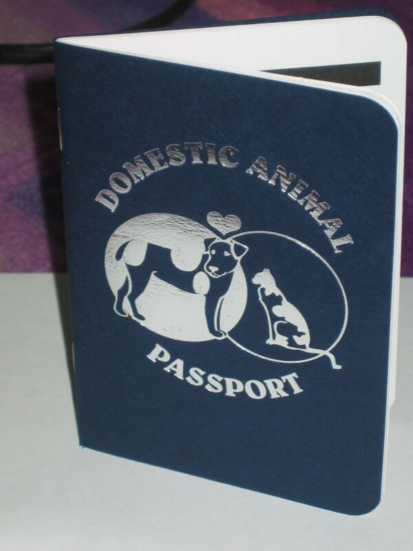 PASSPORT, Booklet for All Your Pet