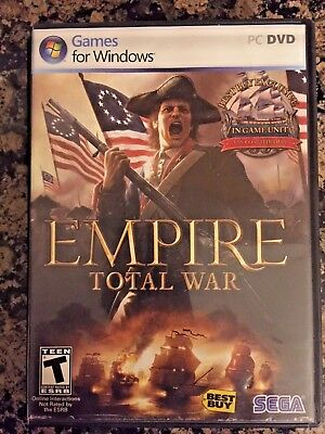 Empire: Total War (PC, 2009) Best Buy exclusive edition