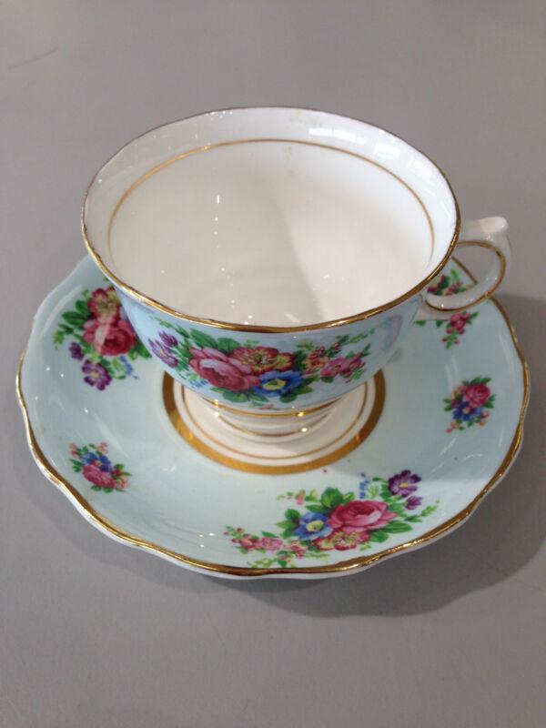 Colclough Bone China Made In England Teacup & Saucer