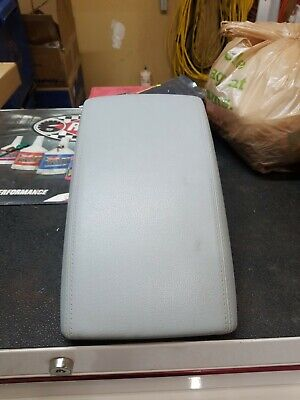 CENTER CONSOLE LEATHER ARM REST ASSEMBLY OEM GRAY 12-17 AUDI A6 A7 S6 S7 RS7 C7