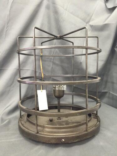 Ralph Lauren Light Fixture LRL4501AL-SG Aged Iron Cage NO GLASS