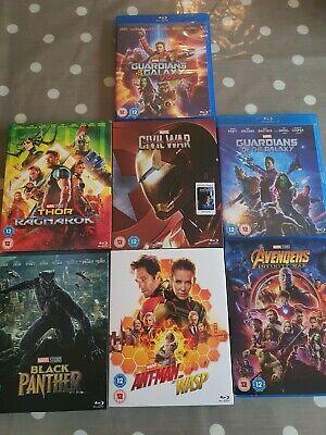 Disney/Marvel/Star Wars Blu Ray/DVD Bundle