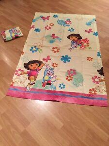 Dora the Explorer curtain panels