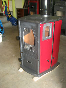 Slow Combustion Cast Iron Wood Heater