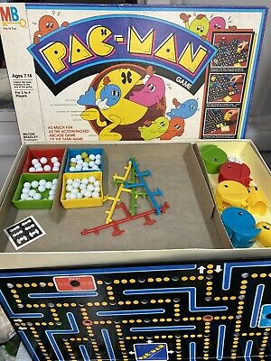Wow! 1982 Pac-man Board Game by Milton Bradley Complete in Great Condition