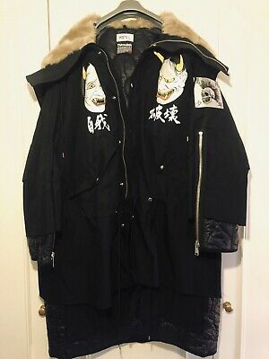 Authentic KIDILL Punk parka.. Size 44 /Medium Oversized. Brand New without Tags