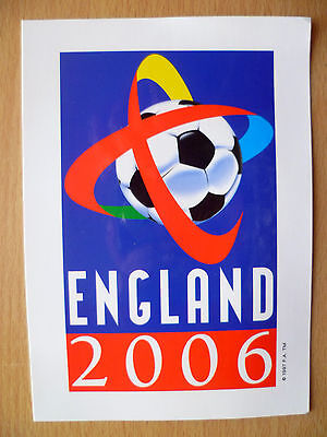 Collectable Sport Postcard: ENGLAND 2006: World Cup 2006 Campaign,Like Mint/Rare