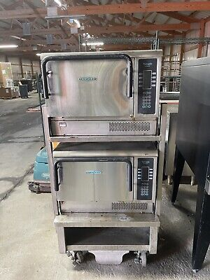 2014 Later Set Of 2 Turbochef Tornado Ngc High Sp. Convection Oven W Stand