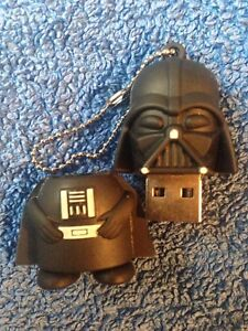 1 Star Wars Darth Vader 128MB USB Pen Drive, USB Flash Drive Memory Stick