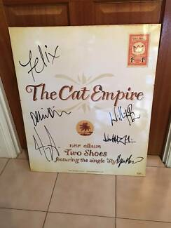 The Cat Empire - Two Shoes Autographed Block Mount