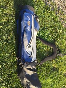 """BARELY USED """"JOHN DALY"""" GOLF CLUBS AND BAG"""