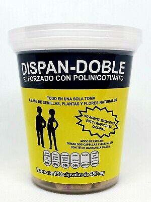 DISPAN DOBLE 150 CAPSULES REINFORCED WITH CHROME POLINICOTINATE EXP 12/2022