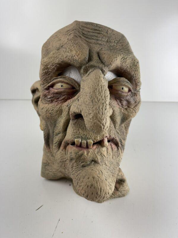 VTG 1979 Don Post Mask Glow In Dark Eyes & Teeth Halloween Mask Excellent RARE