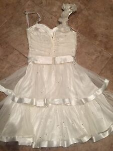 Laura Party/Prom Dress White Size 0, New without Tag