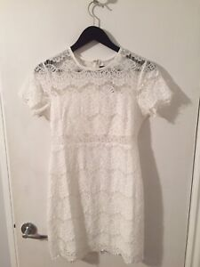White Lace dress from Sweet Pea