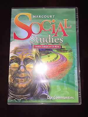 Harcourt Social Studies Grade 3 3rd Our Communities - Student Edition on CD-ROM