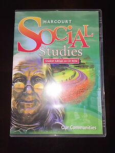 Harcourt social studies books ebay harcourt social studies grade 3 3rd our communities student edition on cd rom fandeluxe Images