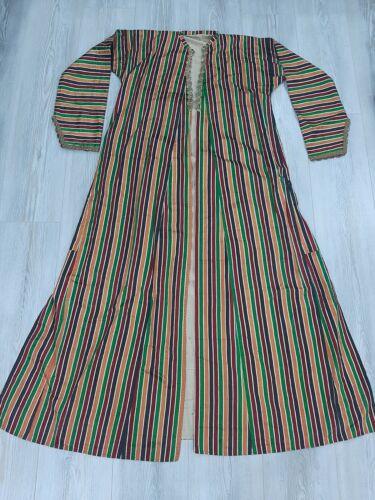 antique ottoman turkish silk robe