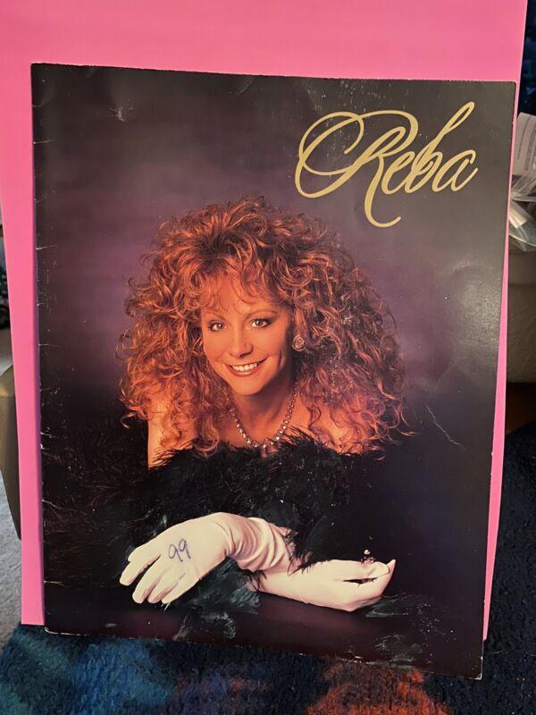 Reba McEntire Tour Book