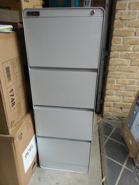 Excalibre 4 Drawer Filing Cabinet White Seconds Rrp 249 Cabinets Gumtree Australia Sutherland Area Miranda 1201738623