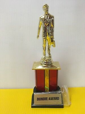 Dundie Trophy Award The Office TV Show Dunder Mifflin Dundee