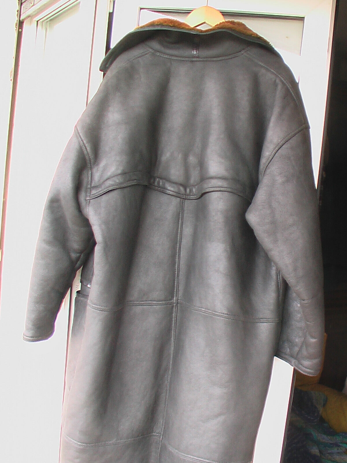 Manteau marithé & françois girbaud by ruffo taille 54 56 cuir mouton shearling