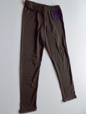 Bondi Girls Leggings gr. 110 dark brown