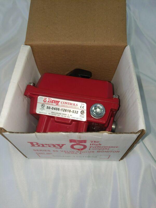 New Bray 500406-12610532 Valve Status Monitor Nema 4
