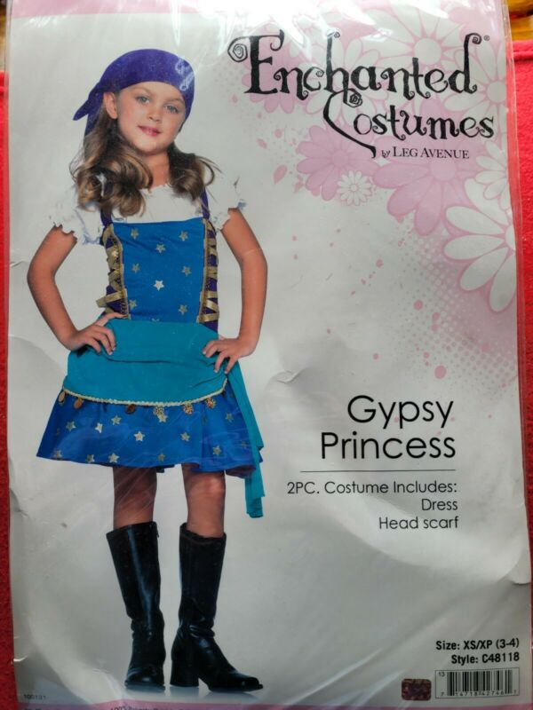 Leg Avenue Gypsy Princess Size 3-4