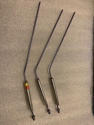 Pilling Medical Surgical Suction Tubes Lot Of 3
