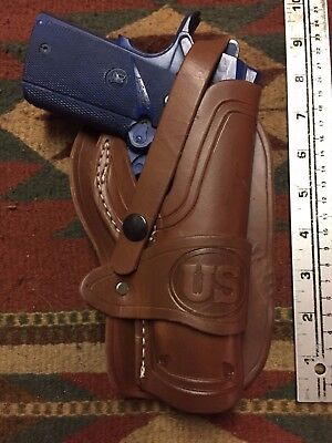 """Vertical DOUBLE Shoulder Holster SPRINGFIELD ARMORY 1911 Model w// 5/"""" Barrel .USA"""