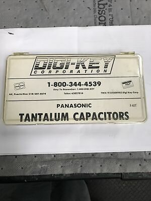 Vintage Digi-key Corp Panasonic Tantalum Capacitor Kit F-kit 0.1uf To 22uf