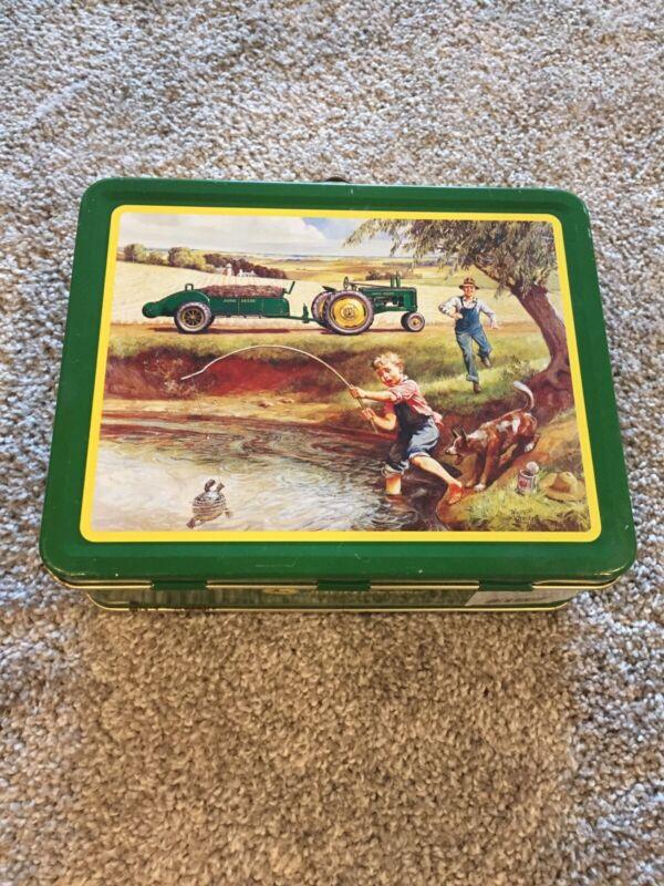 John Deere Small Tin Lunch Box