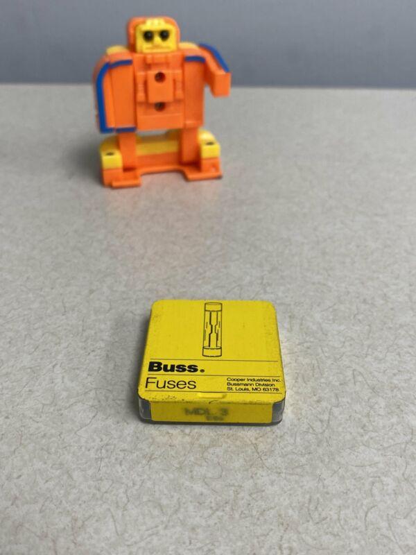 Cooper Bussmann MDL-3 Fuses, *Lot of (2) Packs of (5)*