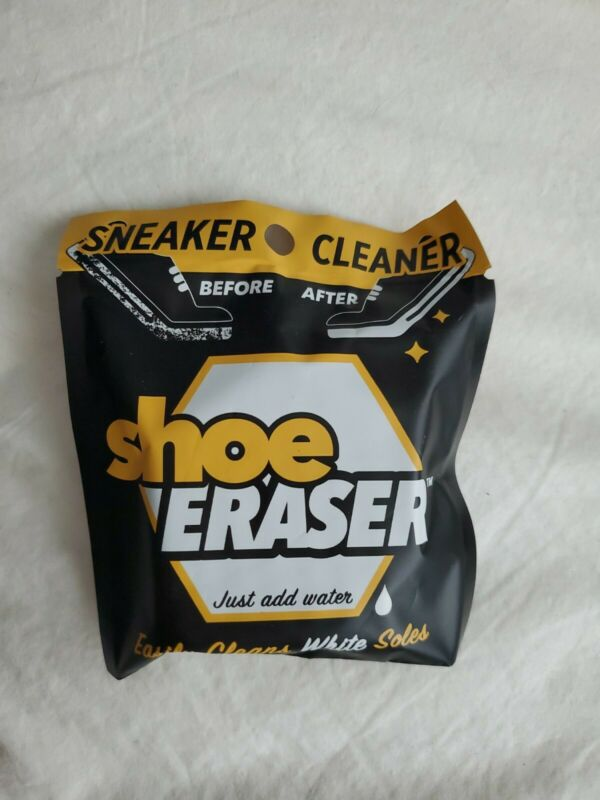 👟3pk SHOE ERASER White Sole Sneaker Cleaner Just Add Water Easily Clean!!👟