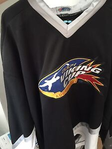 Signed Dominic Hasek Viking Cup 2004 jersey