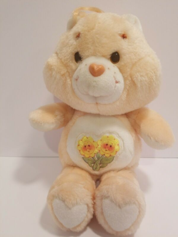 Vintage Friend Bear Care Bears plush 1983