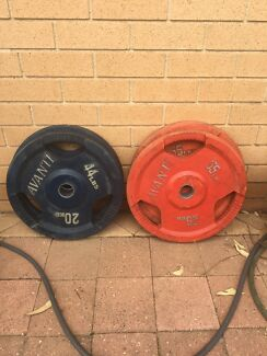 Olympic weights 2x25kg + 2x20kg