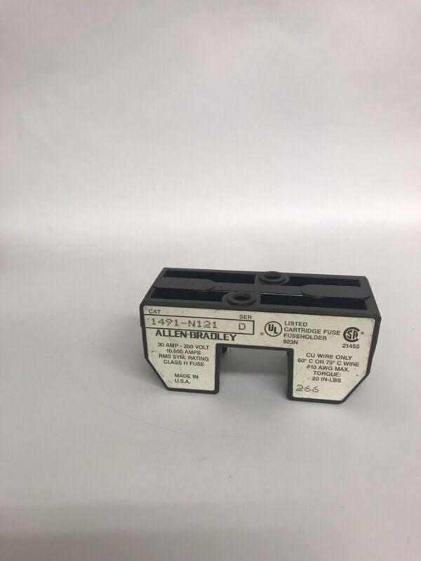 Allen Bradley 30 Amp 250 Volt Amp 1491-N121