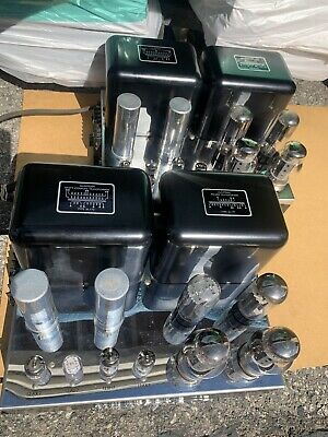 Mcintosh Mc60 Pair 6550 Tubes Amps