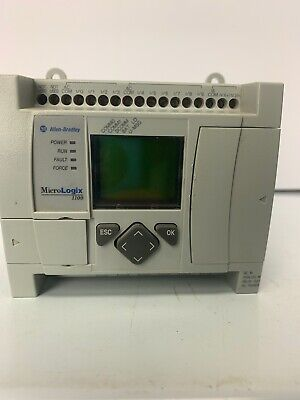 Allen Bradley 1763-l16awa Micrologix 1100 Used
