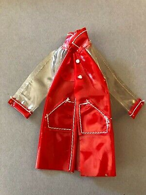 #9747 Red Set for when It's Wet Get Ups n' Go 1977 Skipper coat Vintage Barbie